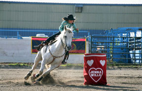 Quesnel Rodeo Barrel Racing